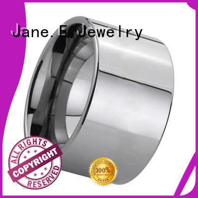 JaneE damascus texture matching tungsten wedding bands exquisite for gift
