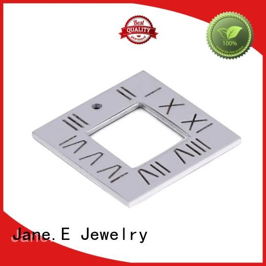 JaneE Silver stainless steel pendant custom for festival gifts