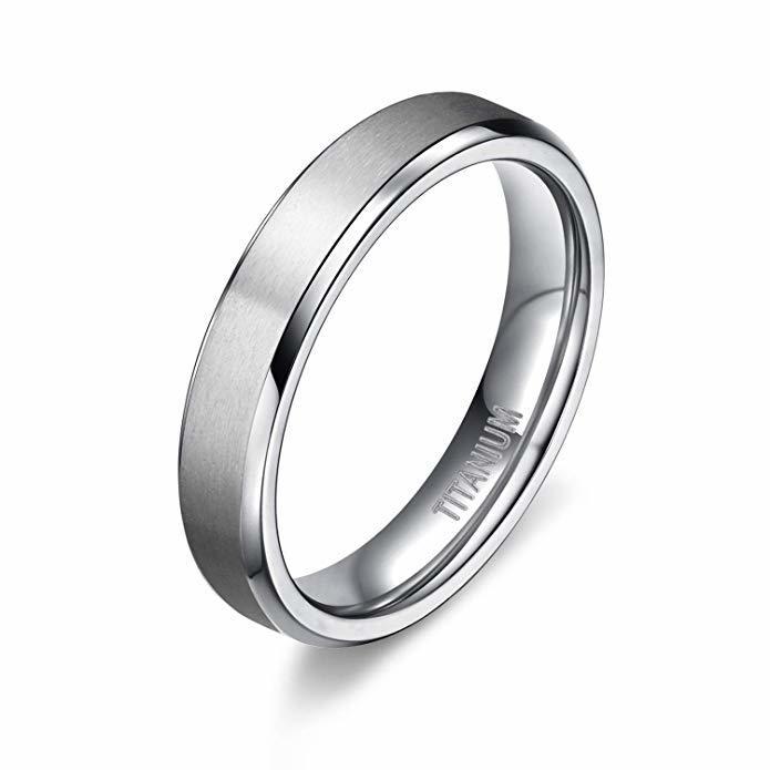 JaneE sparkle sandblasting titanium rings for women factory direct for anniversary-2
