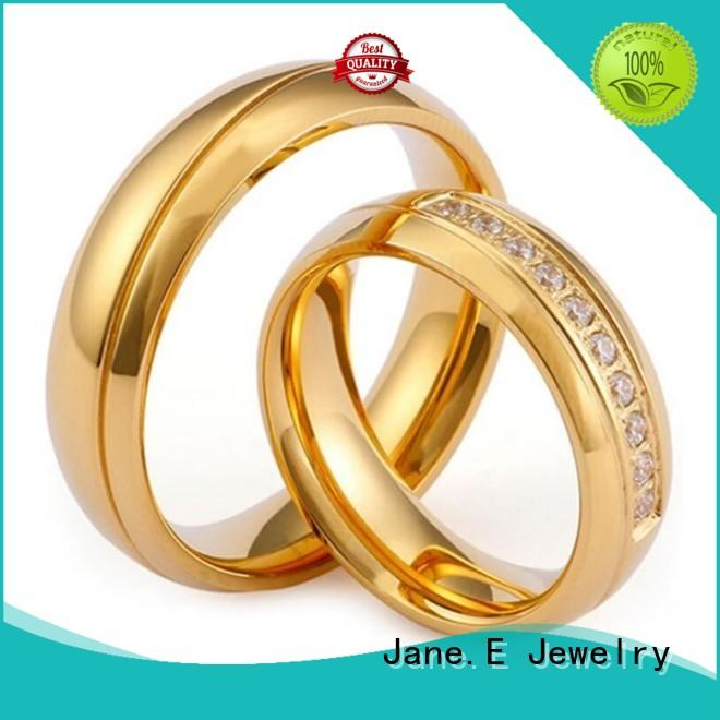 JaneE customized stainless steel band top quality for men