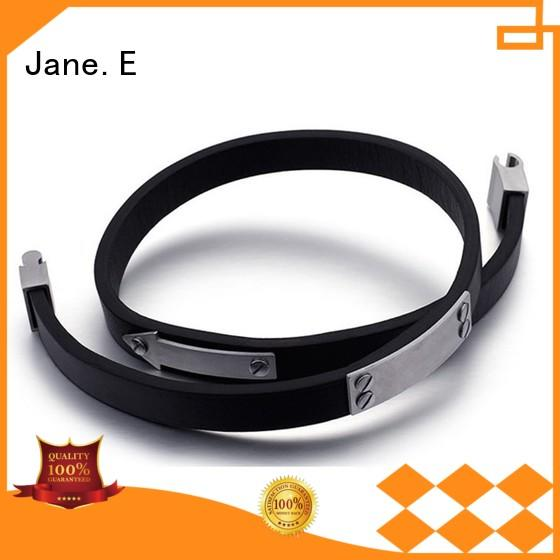 JaneE good quality stainless steel bracelet wholesale for decoration