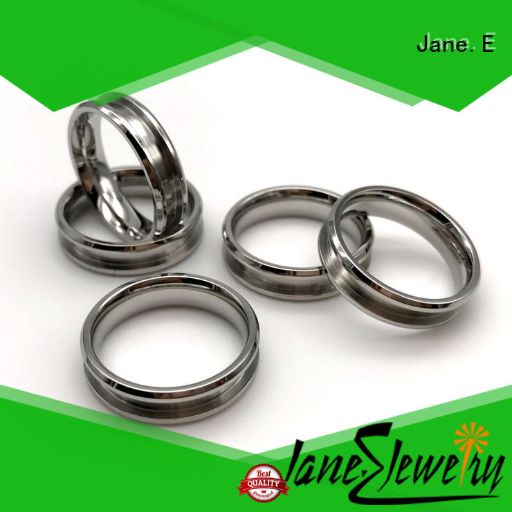 customized stainless steel mens wedding bands plated top quality for weddings