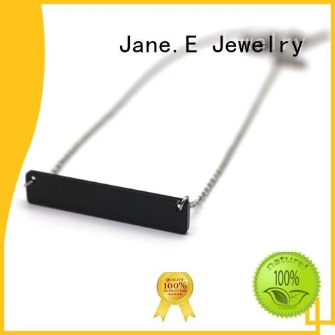 JaneE aromatherapy stainless steel chain necklace different dimension for decoration