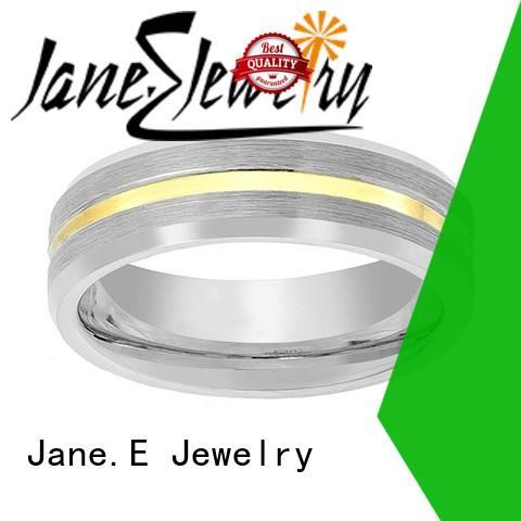 unique design custom tungsten ring exquisite for engagement