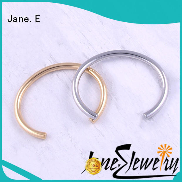 JaneE custom made stainless steel adjustable bangle exquisite supplier