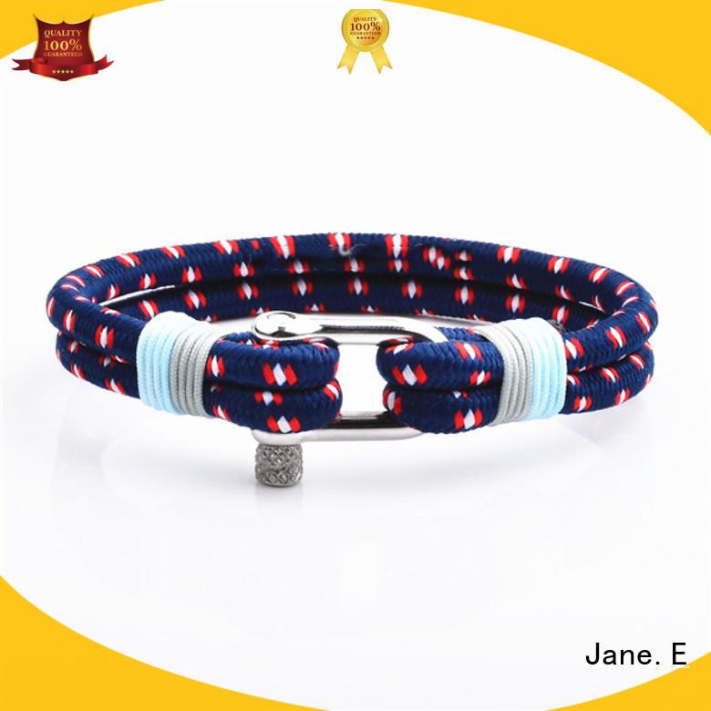 polished finished custom rope bracelets custom made for women JaneE