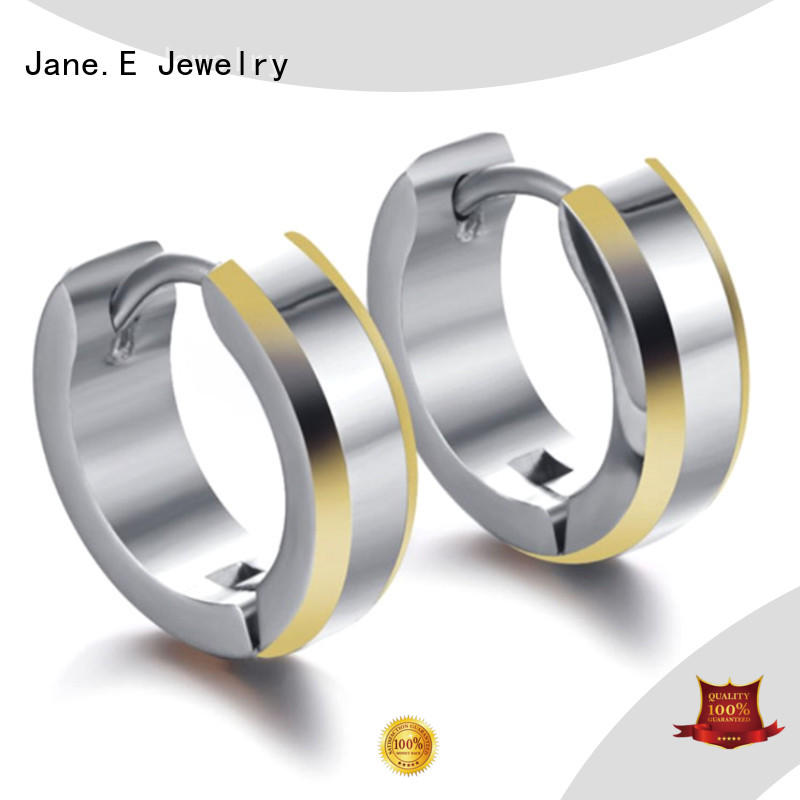 JaneE traditional titanium jewelry earrings hot selling for women
