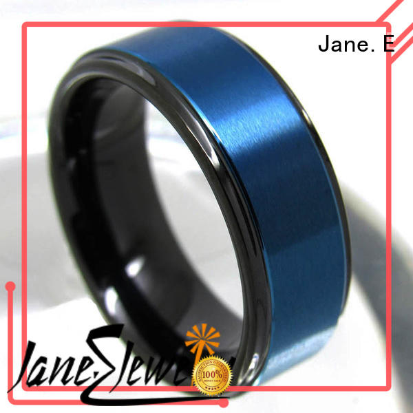 multi colors black tungsten wedding bands red opal matt for gift