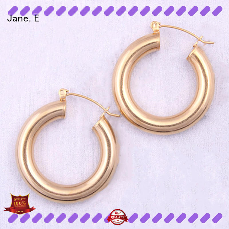 JaneE 316l no hole earrings OEM for decoration