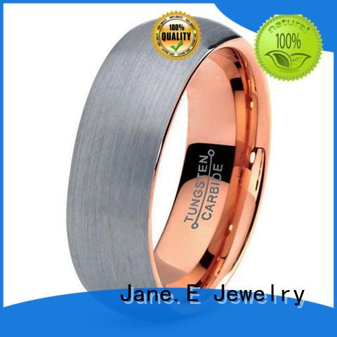 multi colors tungsten gold wedding bands red opal matt for wedding