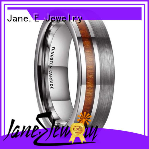 multi colors tungsten carbide engagement rings meteorite matt for gift