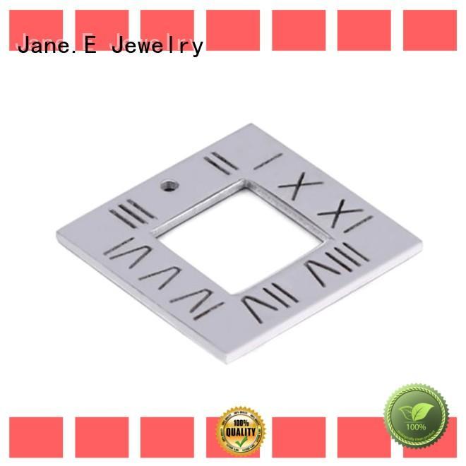 JaneE IP gold stainless steel pendant for men custom for men