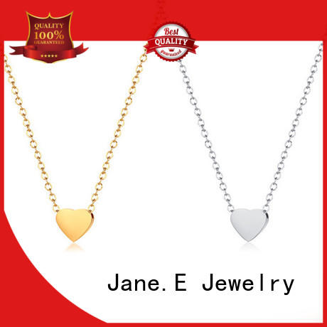classic stainless steel necklaces wholesale polished surface different dimension for gift