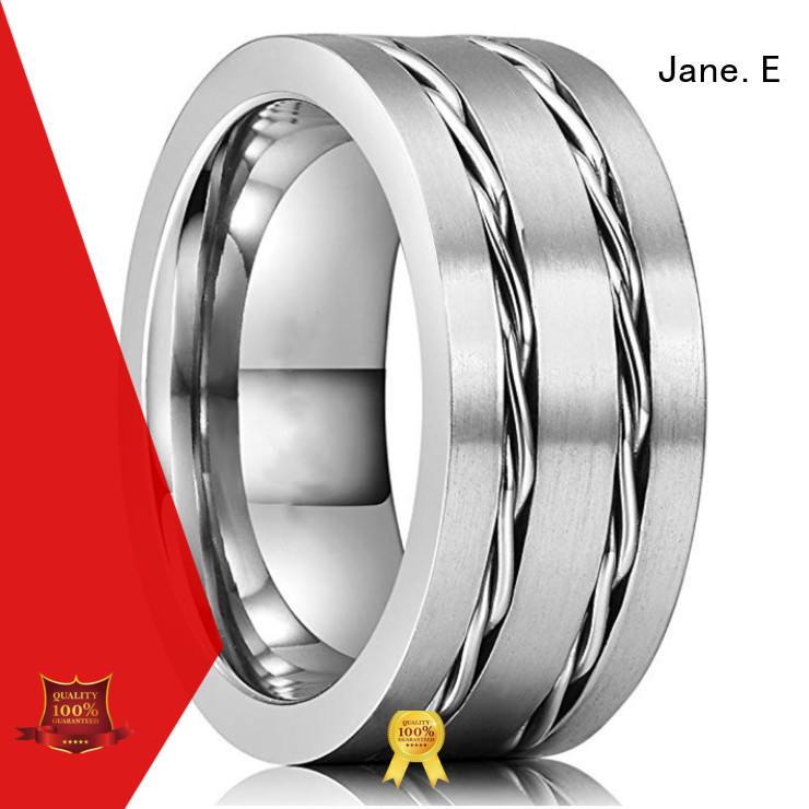 unique design tungsten carbide gold ring meteorite exquisite for gift