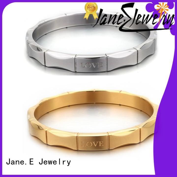 JaneE wood custom bracelets factory for anniversary