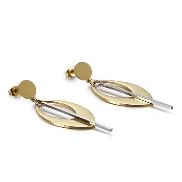 stylish stainless steel hoop earrings pendants OEM for decoration-3