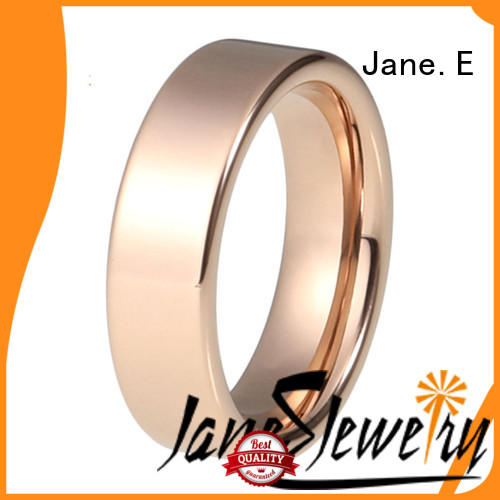 square edges stainless steel wedding bands brown fashion design for weddings