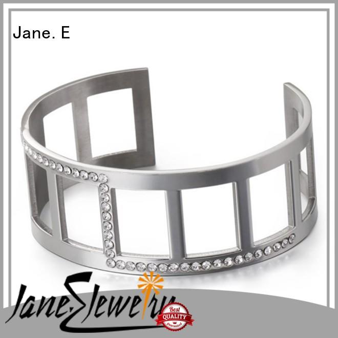 JaneE with stainless steel watch band stainless steel bangles wholesale exquisite manufacturer