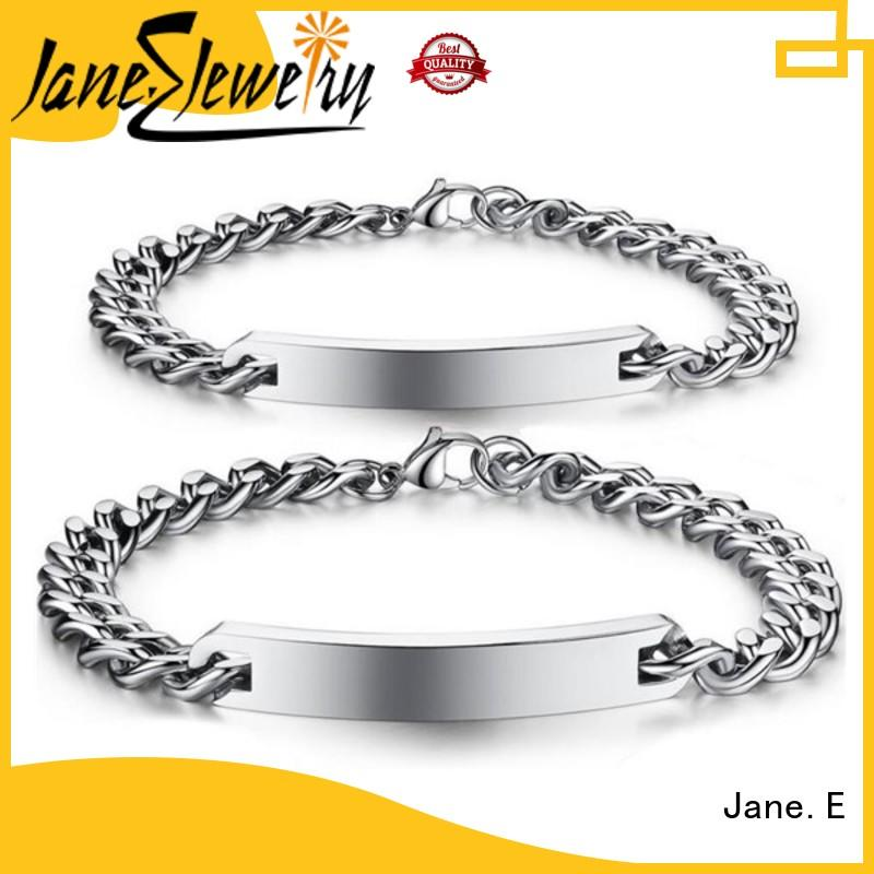 JaneE popular stainless steel jewelry wholesale for gifts