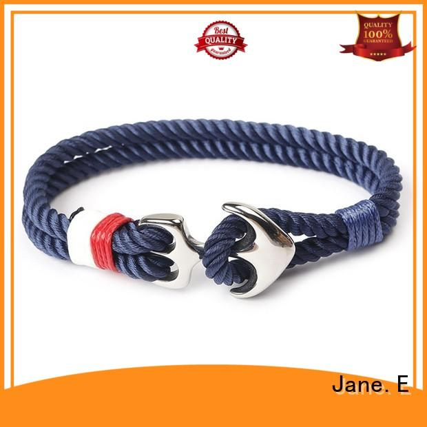 cotton wrist rope bracelet high quality for anniversary JaneE