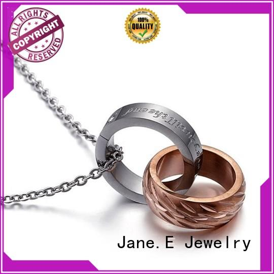 JaneE classic stainless steel diffuser necklace different dimension for gift