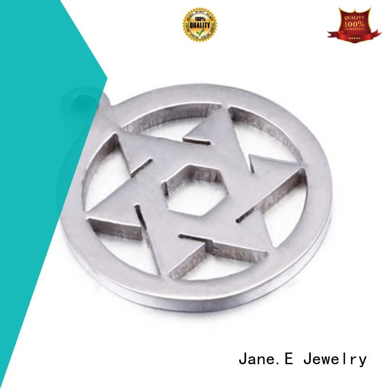 JaneE modern mens stainless steel pendant beautiful for festival gifts