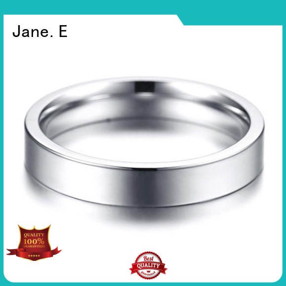 shiny stainless rings rose gold multi colors for decoration