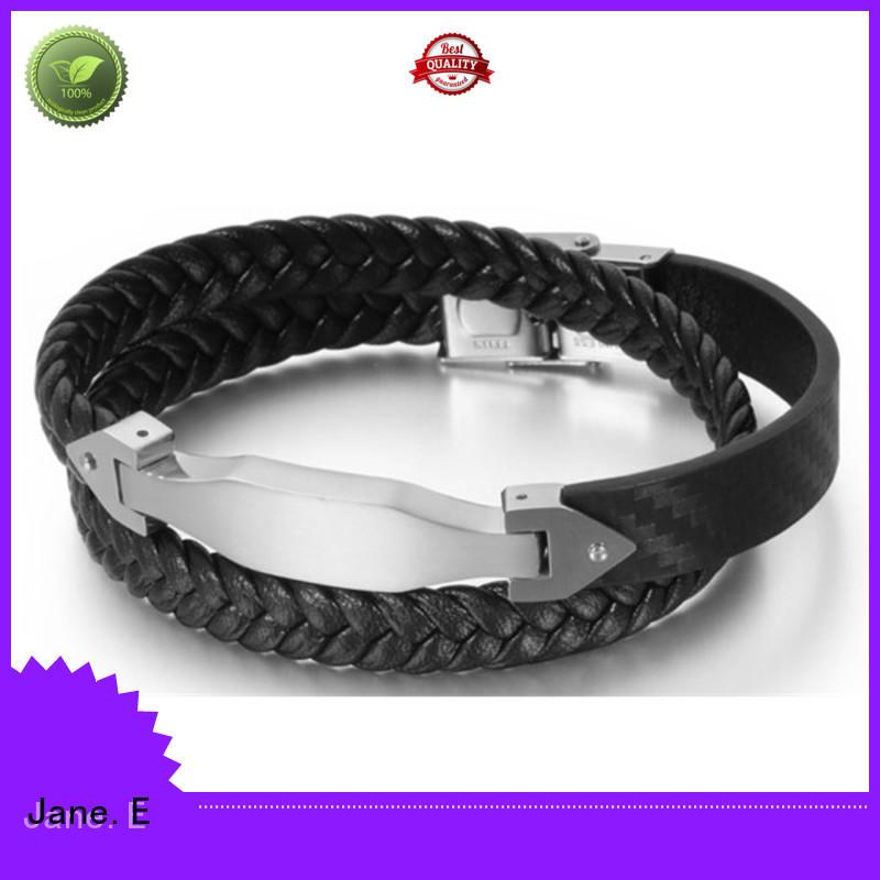 JaneE custom made stainless steel bangle bracelets hot selling manufacturer