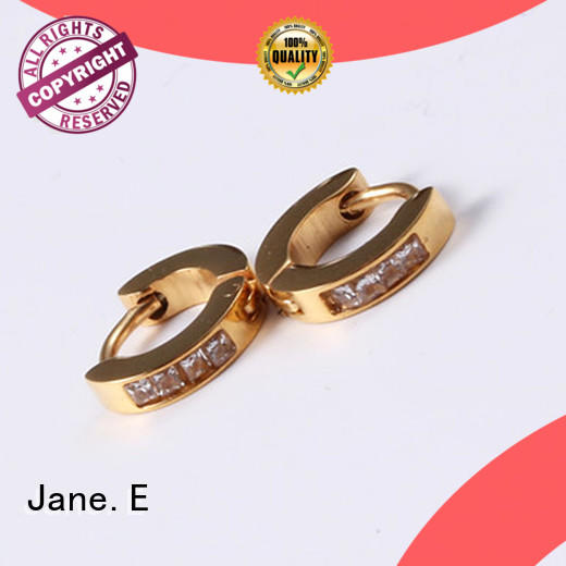 hypoallergenic stainless steel hoop earrings 316l comfortable for decoration