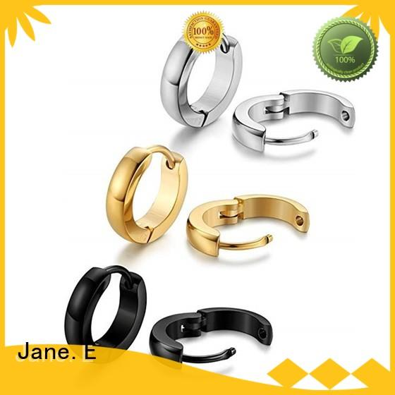 JaneE pendants surgical stainless steel earrings comfortable for decoration
