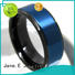 JaneE traditional custom tungsten carbide wedding bands exquisite for gift