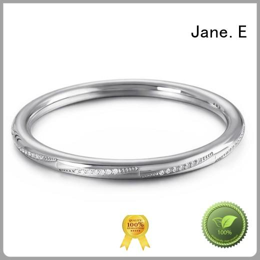 JaneE manual polished bangle for women exquisite manufacturer