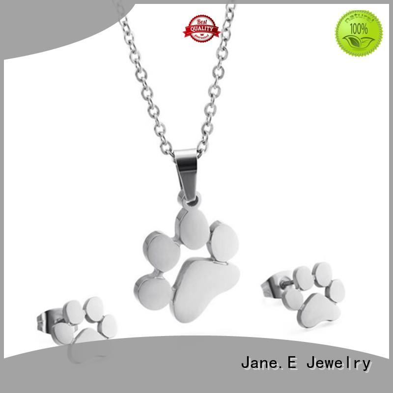 JaneE fragrant steel chain necklace different dimension manufacturer