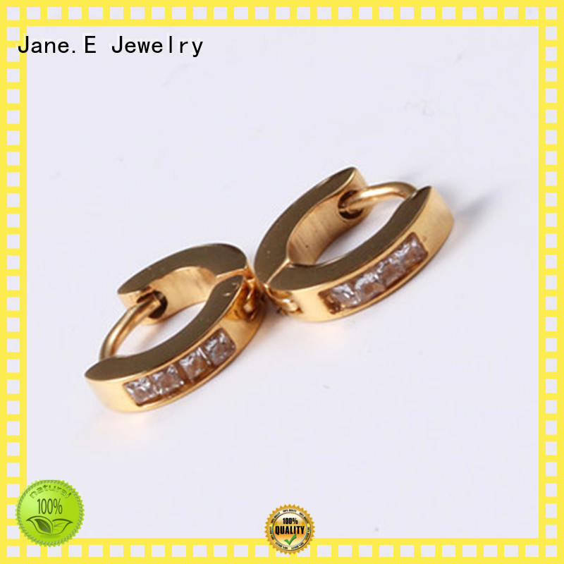 JaneE multi colors pearl earrings for women durable for decoration