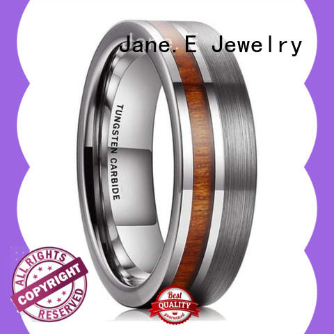 unique design tungsten promise rings exquisite for engagement
