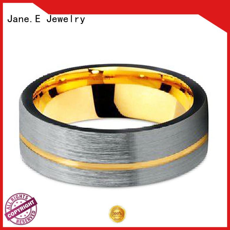 damascus texture womens tungsten wedding bands matt for wedding