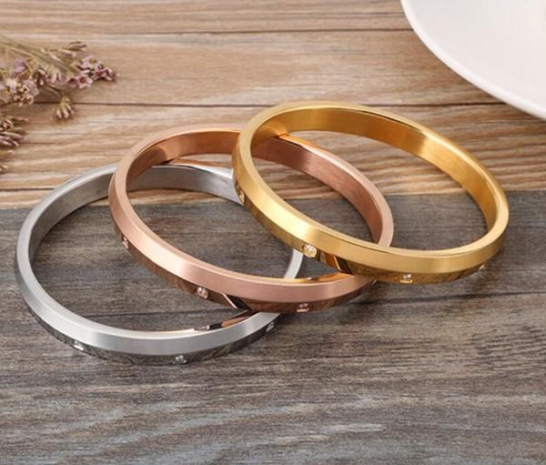 multi colors stainless steel bangle bracelets with genuine leather strap hot selling manufacturer-1