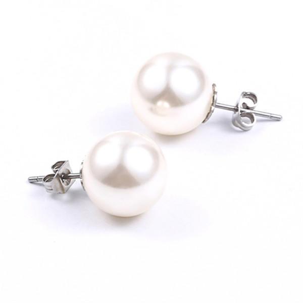custom made titanium stud earrings allergy-free material hot selling for women-2