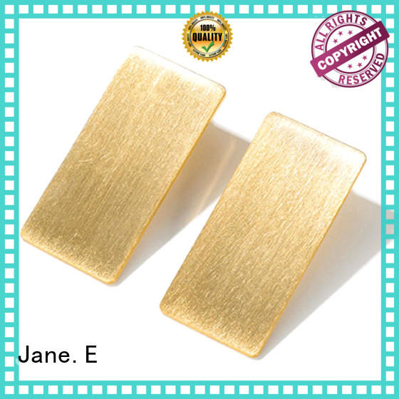 JaneE traditional simple earrings classic style for gift