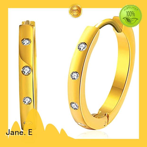 JaneE high polished women earrings customized for women