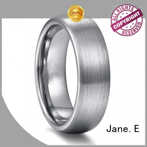 JaneE traditional tungsten engagement rings for her exquisite for engagement