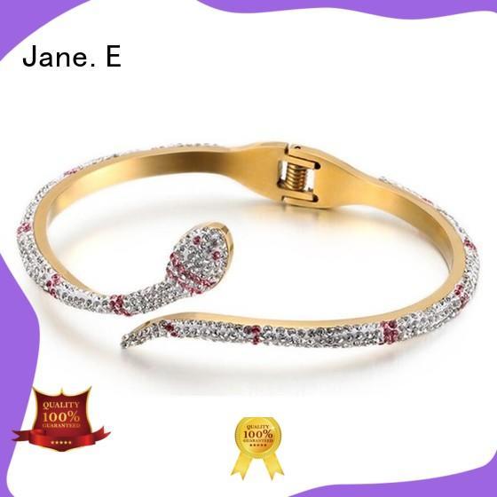 JaneE custom made custom bracelets hot selling for engagement