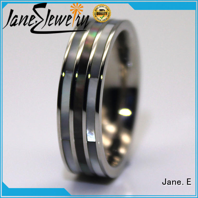 factory direct stainless steel engagement rings AAA CZ Stones multi colors for decoration
