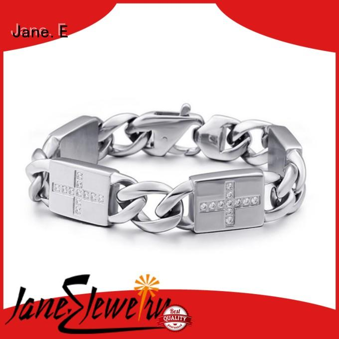 good quality steel bracelet manual polishing customized for women