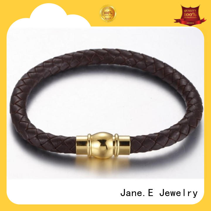 JaneE custom made stainless steel bangle bracelets hot selling for gift