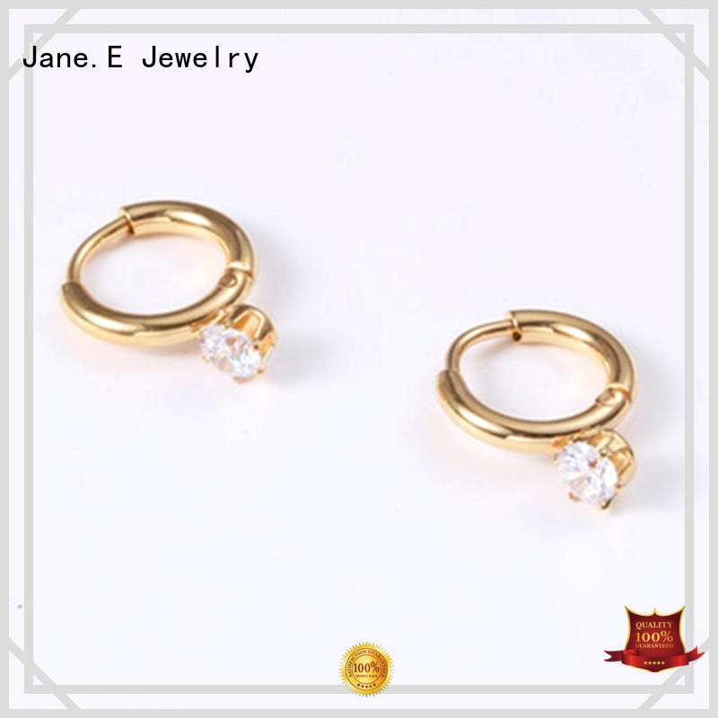 exchangeable surgical steel hoop earrings high polished ODM for decoration