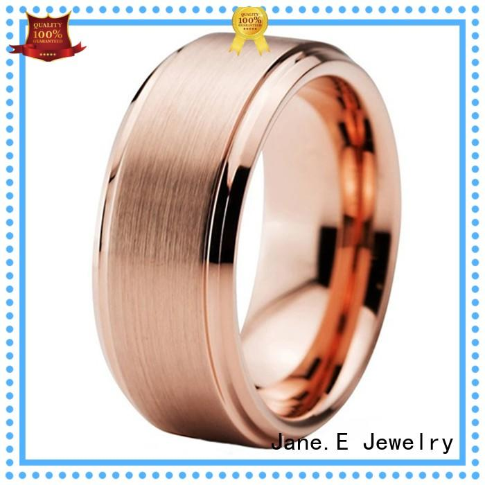 koa wood tungsten wedding ring exquisite for wedding JaneE