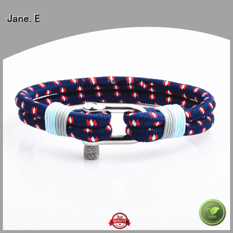 JaneE heart shape personalized rope bracelets exquisite for women