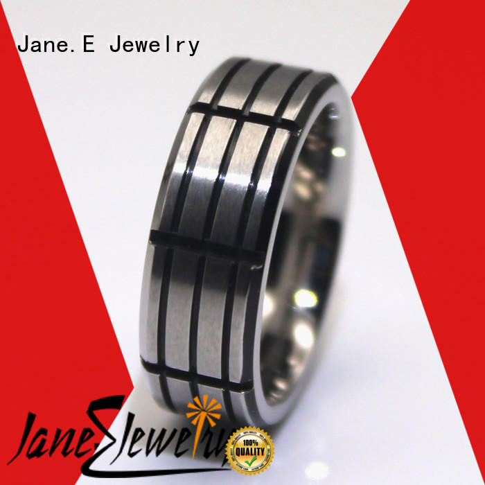 JaneE rose gold stainless steel ring core comfortable for decoration