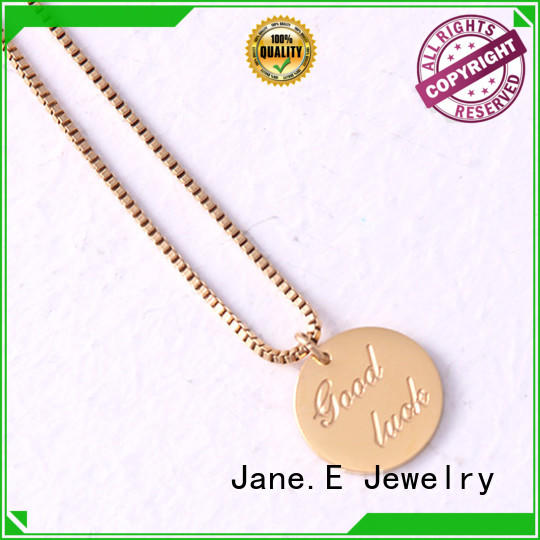 aromatherapy stainless steel personalized necklace different dimension for gift